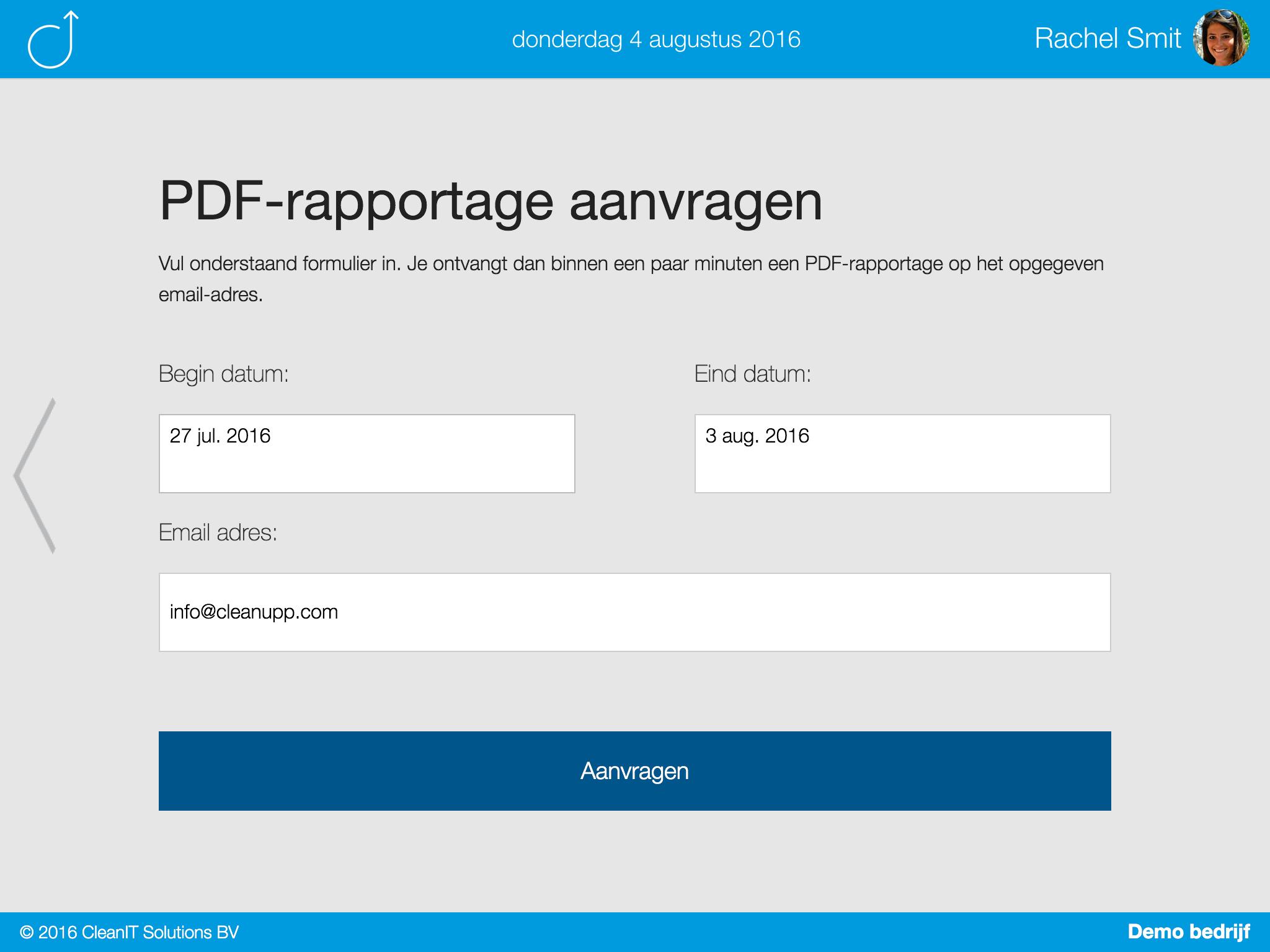 PDF Rapportages
